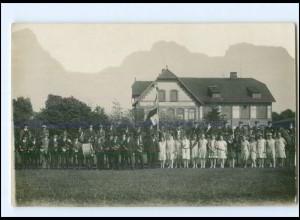 U8204/ Neumünster Einfeld Ringreiten Foto AK ca.1930