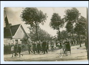 U8208/ Neumünster Einfeld Ringreiten Foto AK ca.1930