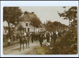 U8207/ Neumünster Einfeld Ringreiten Foto AK ca.1930