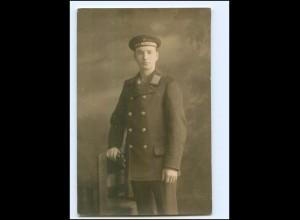 U7348/ Marine Soldat S.M.S. Mecklenburg Foto AK ca.1915