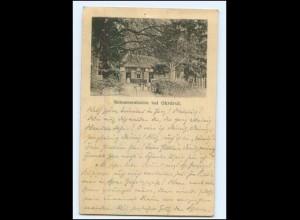 U7335-998/ Scheererhütte bei Ohrdruf AK 1895