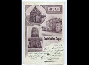U7339/ Lockstedter Lager Hotel Kaiserhof AK 1902
