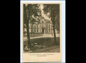 U7112/ Harburg Wilhelmsburg Staatl. Oberlyzeum AK ca.1925