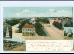 Y13027/ Lockstedter Lager Truppenübungsplatz AK 1910