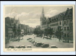 Y13028/ Erfurt Anger Autos AK 1939