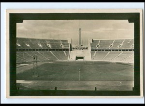 Y13096/ Olympiade Berlin 1936 Deutsche Kampfbahn Stadion Foto AK 1936