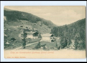 Y13039/ Gmünd Gerlos Kammerlanders Gasthaus AK ca.1905 Tirol