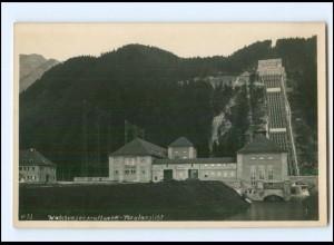 Y13009/ Walchenseekraftweerk bei Kochel Foto AK ca.1930