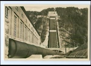 Y13010/ Walchenseekraftweerk bei Kochel Foto AK ca.1930
