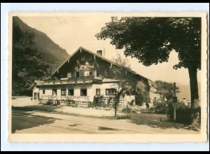 Y12942/ Walchensee Restaurant Bucherer Foto AK