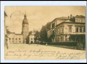 Y12944/ Coburg Ketschentor und Staatsministerium 1905 AK