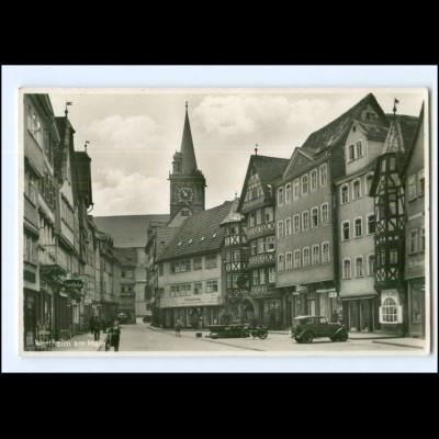 Y12939/ Wertheim am Main 1930 Foto AK