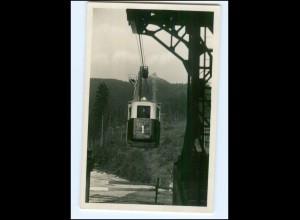 Y13022/ Jeschken Jested Drahtseilbahn Foto AK 1935 Tschechien