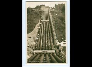 Y13044/ Kochel Walchenseekraftwerk Foto AK ca.1930