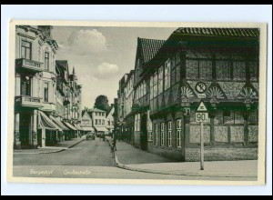 U7399/ Hamburg Bergedorf Große Straße . AK ca.1940