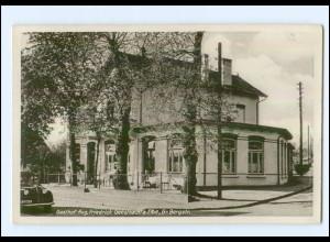 U7161/ Geesthacht Gr. Bergstraße Gasthof Aug. Friedrich AK ca.1938