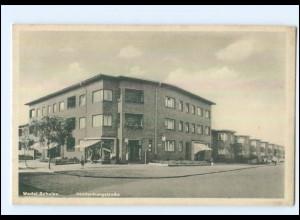 U7141/ Wedel Schulau Hindenburgstraße AK ca.1940