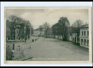 U7437/ Wedel Marktplatz und Roland AK ca.1940