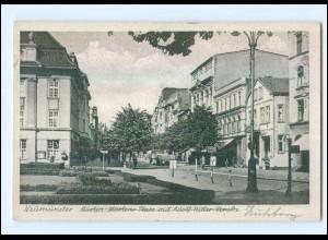 U7324/ Neumünster Adolf-H-Straße AK ca.1940