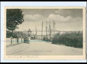 U7464/ Rendsburg Bei der Hochbrücke AK ca.1940