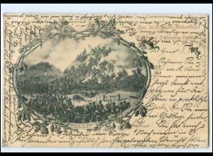 Y13145/ Erhebung Schleswig-Holsteins 50 jähr. Gedenkfeier AK 1898