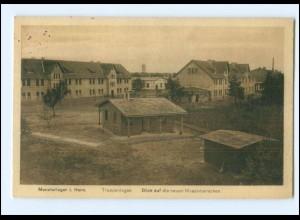 Y13135/ Munsterlager Truppenlager Truppenübungsplatz AK 1915