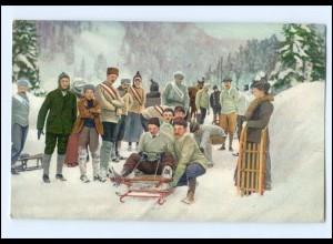 Y13136/ Bob Wintersport AK 1909