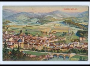 U7765/ Mürzzuschlag Steiermark AK 1916 Typochrom Künstker-Karte
