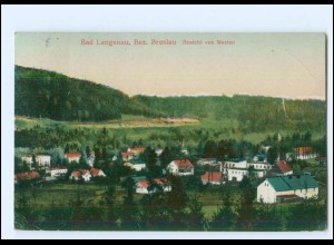U7692/ Bad Langenau Bez. Breslau AK Schlesien 1920