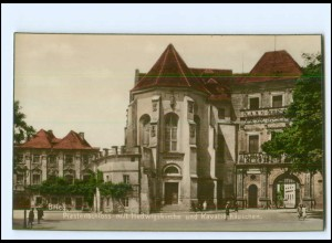U7627/ Brieg Piastenschloß Schlesien Foto AK ca.1930