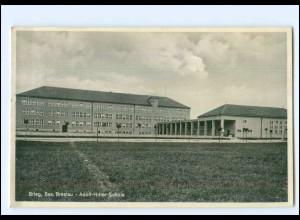 U7635/ Brieg Bz. Breslau Adolf-H-Schule AK 1936 Schlesien