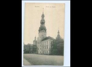 U7640/ Sprottau Markt Ak ca.1912 Schlesien