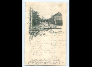 U7572-193/ Weisen Gruß aus Theeks Restaurant AK 1898
