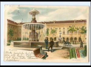 Y13153/ München Universität Litho AK 1899
