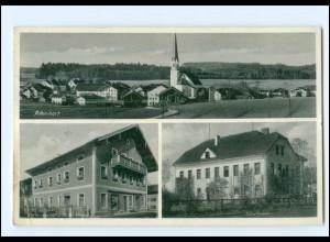 U7592-8201/ Pittenhart Schule AK 1940