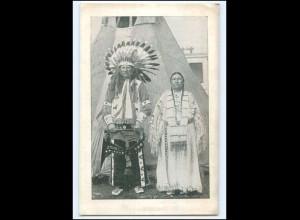 U8225/ Zirkus Sarrasani Sioux-Indianer von Pine Ridge South Dakota AK ca.1925