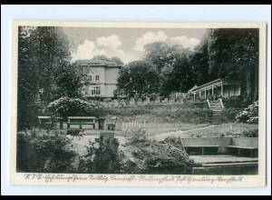 U7769/ Hamburg Lemsahl-Mellingstedt NSV Erholungsheim Trillup AK ca.1940