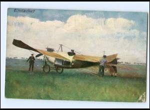 XX005356/ Flugzeug Eindecker AK ca.1912