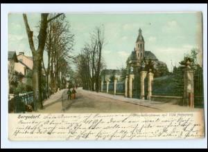 XX005367/ Hamburg Bergedorf Wentorferstraße AK 1907