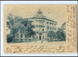XX005370/ Hamburg Wilhelm Gymnasium, Grindeallee/Moorweidenstr. AK 1902