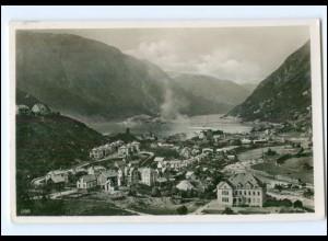 Y13335/ Hardangerfjord - Odda Norwegen Foto AK + Deutsche Schiffspost 1938 KdF