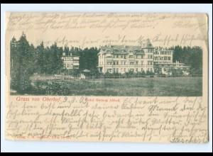 Y13269/ Oberhof Hotel Herzog Alfred AK 1903