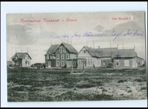 U7785/ Norddorf auf Amrum See Hospiz I AK 1913