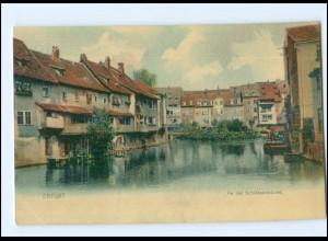 Y13257/ Erfurt An der Schlösserbrücke AK ca.1900