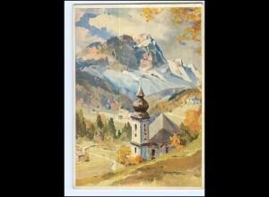 Y13240/ Maria-Gern bei Berchtesgaden Hanns Maurus AK ca.1935