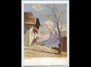 Y13239/ Oberbozen am Schlern Südtirol Hanns Maurus AK ca.1935