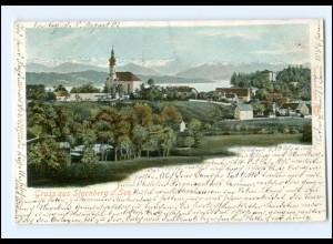 Y13361/ Gruß aus Starnberg AK ca.1900