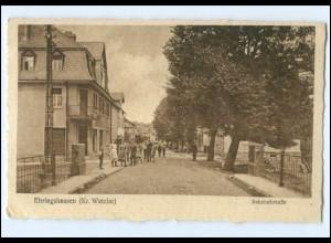 U7990-6332/ Ehringshausen Kr. Wetzlar Bahnhofstr. 1928 AK