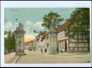 Y13378/ Göttingen Geismartor AK 1915