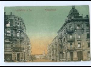 U7989/ Landsberg a Warthe Moltkestraße AK 1909
